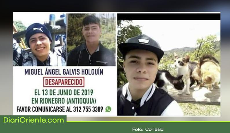 Photo of Familia continúa búsqueda de joven desaparecido en Rionegro