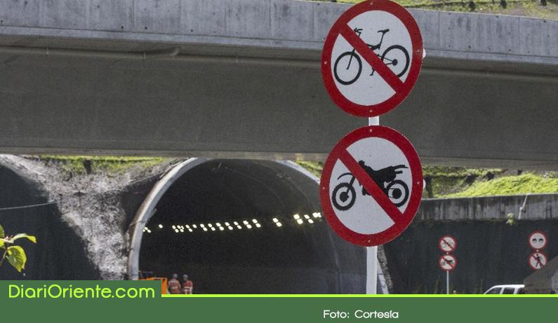 Photo of Por decisión del concesionario en agosto se estrena el túnel de Oriente sin motos