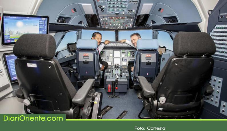 Photo of Inauguraron en Rionegro el más avanzado centro de entrenamiento para pilotos de Airbus A320
