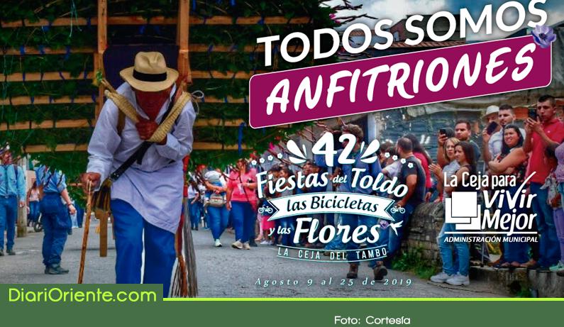 Photo of Desde hoy y hasta el 31 de agosto La Ceja estará de fiesta
