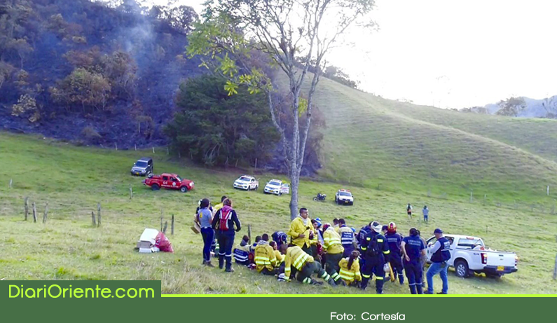 Photo of Incendios forestales han afectado en los últimos días a La Ceja, Abejorral y San Luis