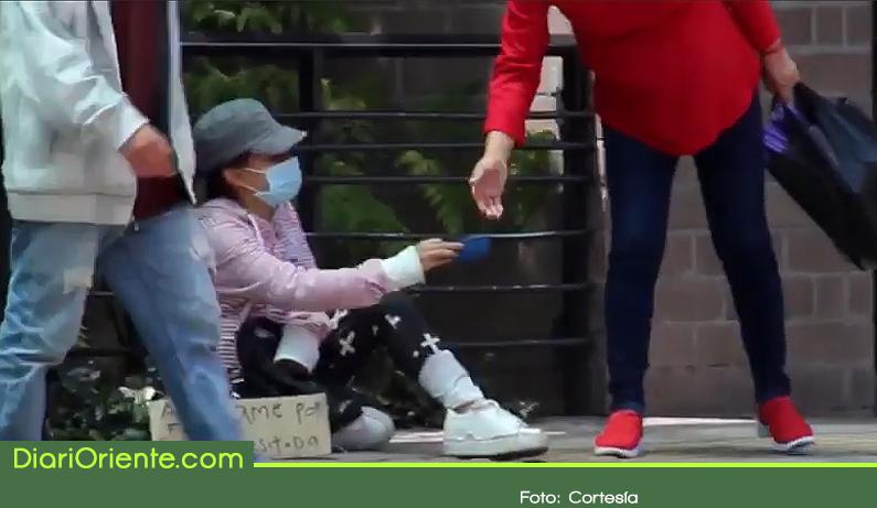 Photo of En La Ceja, una persona que se dedica a la mendicidad puede recolectar hasta $40.000 en dos horas.