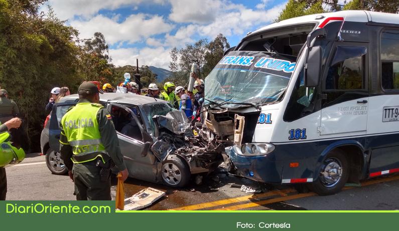Photo of Fuerte accidente en la vía La Ceja – Rionegro dejó más 20 heridos