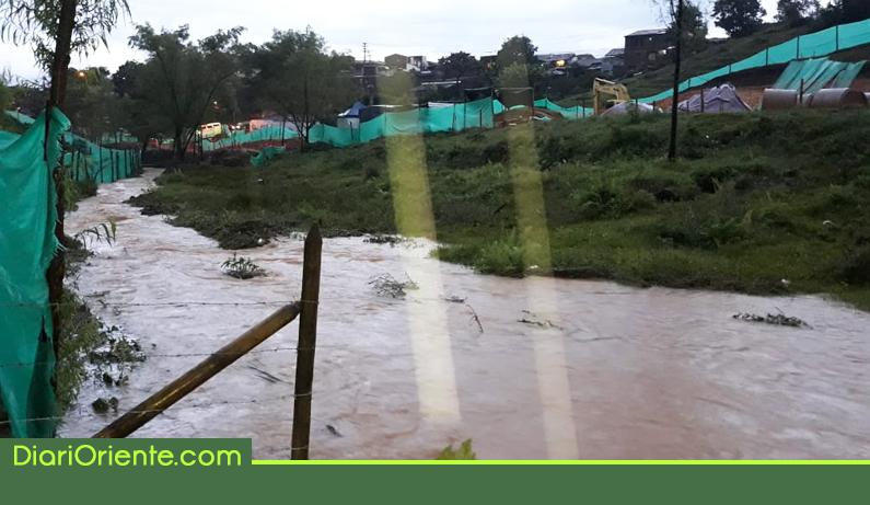 Photo of Las fuertes lluvias vuelven afectar al municipio de Rionegro
