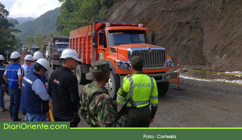 Photo of Abren paso a un carril en la autopista Medellín – Bogotá