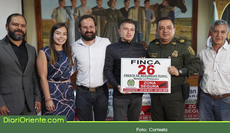 Photo of Con frentes de seguridad, buscan combatir la delincuencia en Marinilla