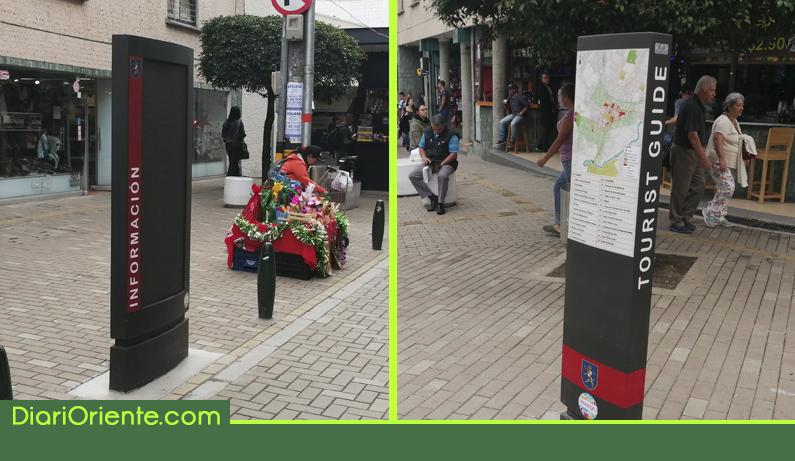 """Photo of En Rionegro implementan """"tótems"""" para información histórica y turística"""