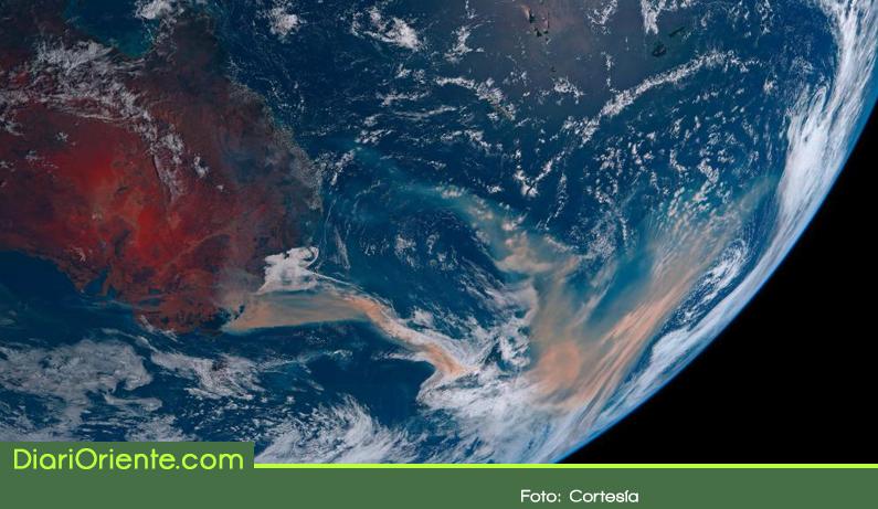 Photo of El humo de los incendios en Australia llega a Suramérica