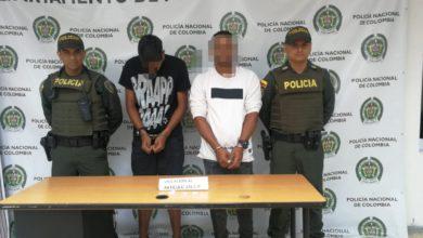 Photo of En Marinilla capturan dos Venezolanos por el delito  de porte y tráfico de estupefacientes