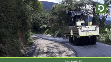Photo of ¡Por fin!, vía que conduce a Argelia ya esta pavimentada en su totalidad