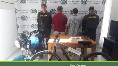Photo of Capturan a dos temidos delincuentes que tenían azotados los municipio de Guarne y San Vicente