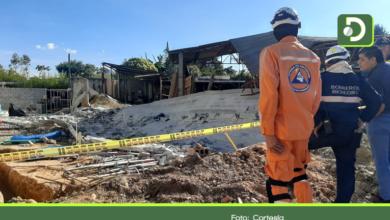 Photo of Colapso de un muro deja dos personas muertas y un herido en Rionegro