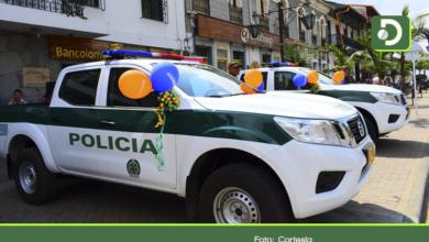 Photo of Con dos nuevos vehículos, se refuerza la Policía de Sonsón
