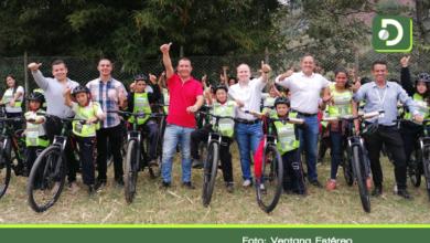 Photo of 70 niños de zonas rurales de La Ceja recibieron bicicletas para ir a estudiar