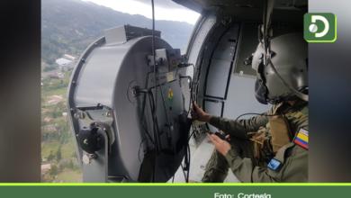 Photo of Helicóptero de la Fuerza Aérea sobrevuela el Oriente llevando mensaje de autocuidado
