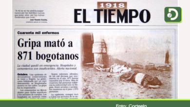 Photo of Hace 100 años, la gripe española le cobró la vida a más de 3000 Colombianos