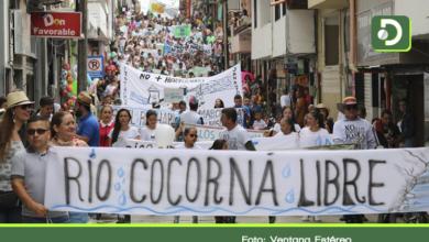 Photo of Masiva marcha en Cocorná contra la construcción de hidroeléctrica