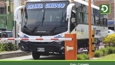 Photo of Así operará la empresa Transportes Unidos en la cuarentena.