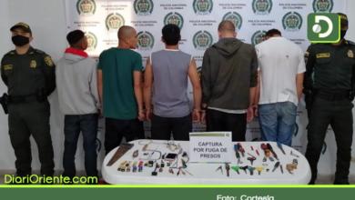 Photo of Cinco presos se fugarón de la cárcel de Abejorral pero fueron capturados minutos más tarde.