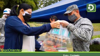 Photo of 180 familias vulnerables de Rionegro recibieron ayudas por parte de la Fuerza Aérea