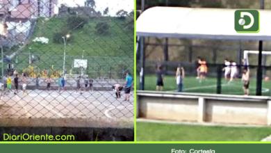 Photo of Rionegro: ciudadanos ignoran la importancia del distanciamiento social para ir a jugar fútbol