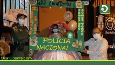 Photo of Cuarentena: Así fue la sorpresa que recibió una quinceañera en San Luis