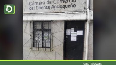 Photo of Cierran temporalmente la sede de la Cámara de Comercio en Sonsón.