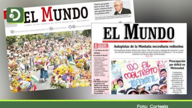 Photo of Tras 41 años, cierra el periódico El Mundo de Medellín