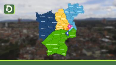 Photo of Mapa: Así están distribuidos los casos de Covid-19 en el municipio de Rionegro