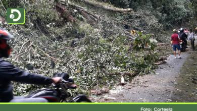 Photo of Autopista Medellín – Bogotá cerrada por derrumbe en el sector Caño Alegre.