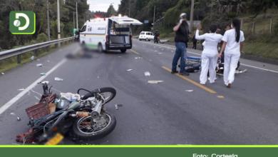 Photo of Dos motociclistas muertos, por accidente de tránsito en la vía Guarne – Aeropuerto.