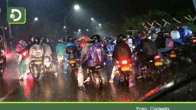 Photo of Motociclistas se tomaron vías de Rionegro y Marinilla para celebrar el Halloween