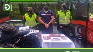 Photo of Capturan a fletero tras robar $140 millones en el municipio de El Santuario.