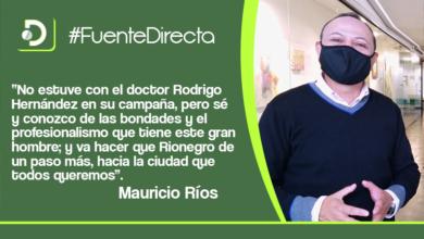 Photo of Mauricio Ríos, Concejal del municipio de Rionegro, nuestro invitado en Fuente Directa.