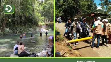 Photo of Cocorná: ante la cantidad de turistas, a la comunidad le tocó ayudar a regular las visitas al Río Melcocho