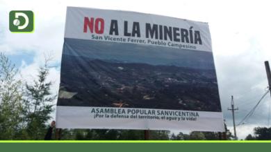 Photo of Movilización social en San Vicente Ferrer contra la minería