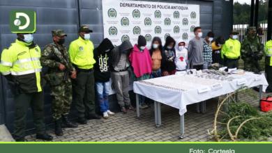 Photo of Abejorral: 9 capturados dejó operativo contra la banda delincuencial «Los de la 80»