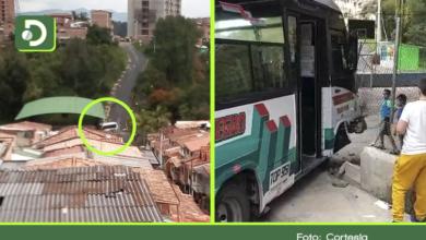 Photo of Rionegro: Buseta se quedó sin frenos y chocó contra el muro de una cancha en Bosques del Norte