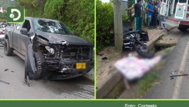 Photo of Grave accidente en la vía El Peñol – Guatapé deja un hombre muerto y una mujer herida