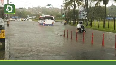Photo of Fuerte aguacero que cayó en Rionegro, afectó varios sectores en el municipio.
