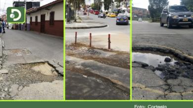 Photo of En imágenes: aumentan las quejas, vías de Rionegro están llenas de huecos