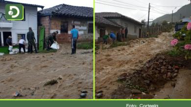 Photo of Desbordamiento de quebrada en Sonsón deja cuatro viviendas afectadas