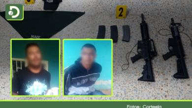 Photo of Capturan en San Carlos 5 personas con armas de guerra y distintivos de lo que sería un nuevo grupo paramilitar