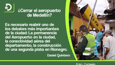 Photo of Tras accidente aéreo, alcalde de Medellín reabre el debate sobre segunda pista del aeropuerto de Rionegro