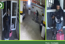 Photo of Vídeo: vendedor ingresó a un edificio en Marinilla y hurto una bicicleta