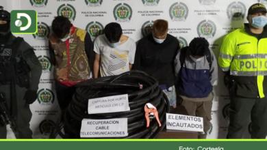 Photo of Sigue el robo de cable telefónico, esta vez fueron capturados 4 sujetos en El Carmen