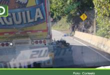 Photo of Otra víctima fatal por accidente de tránsito en la vía Medellín – Bogotá en San Luis